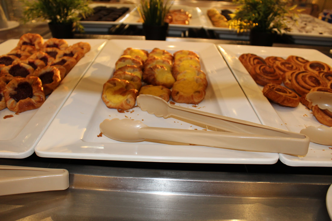 Carnival Valor Continental Breakfast