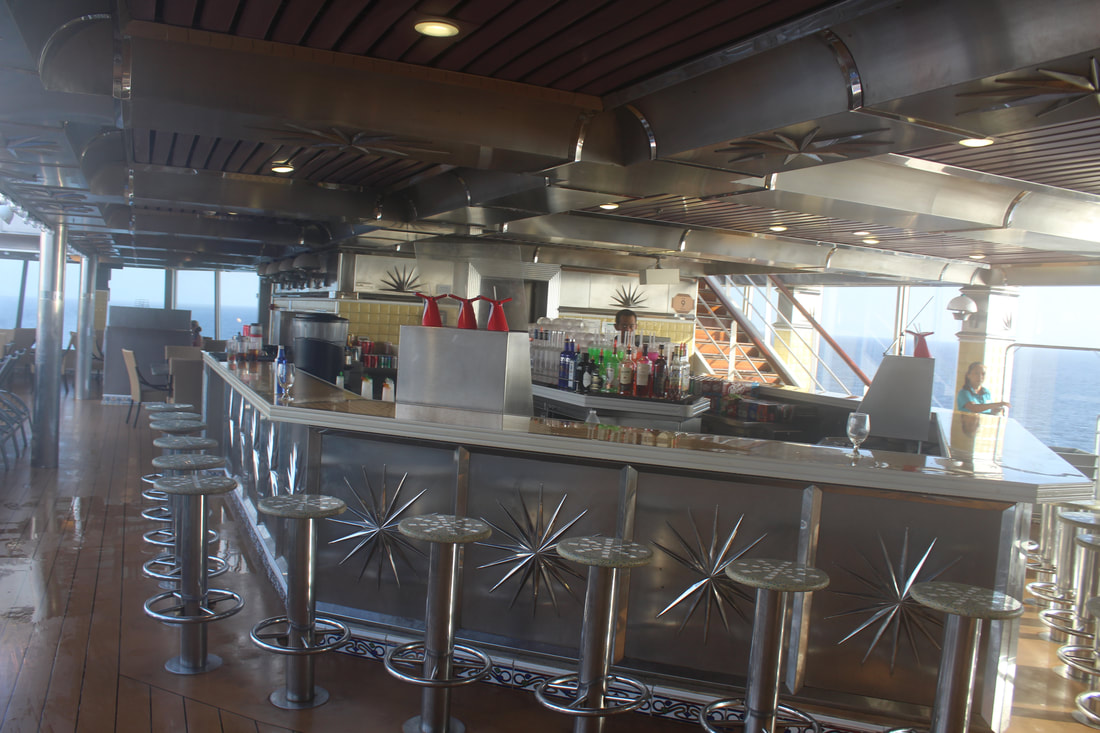 Carnival Valor AFT Pool Bar