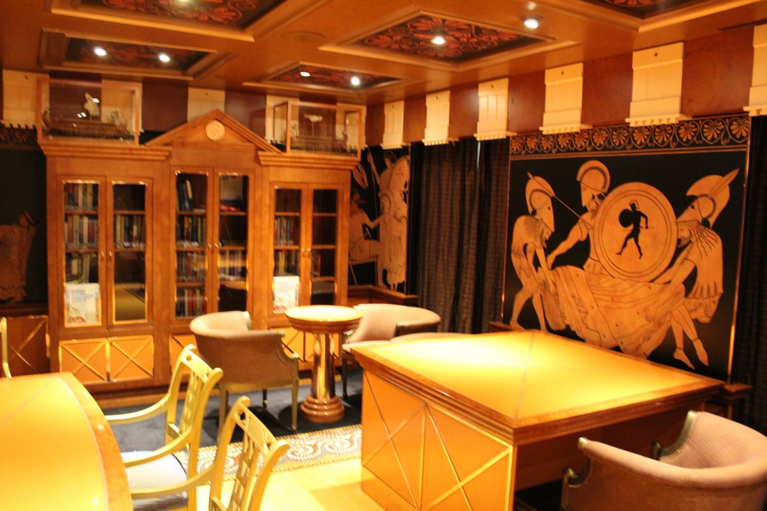Illiad Library on Carnival Valor