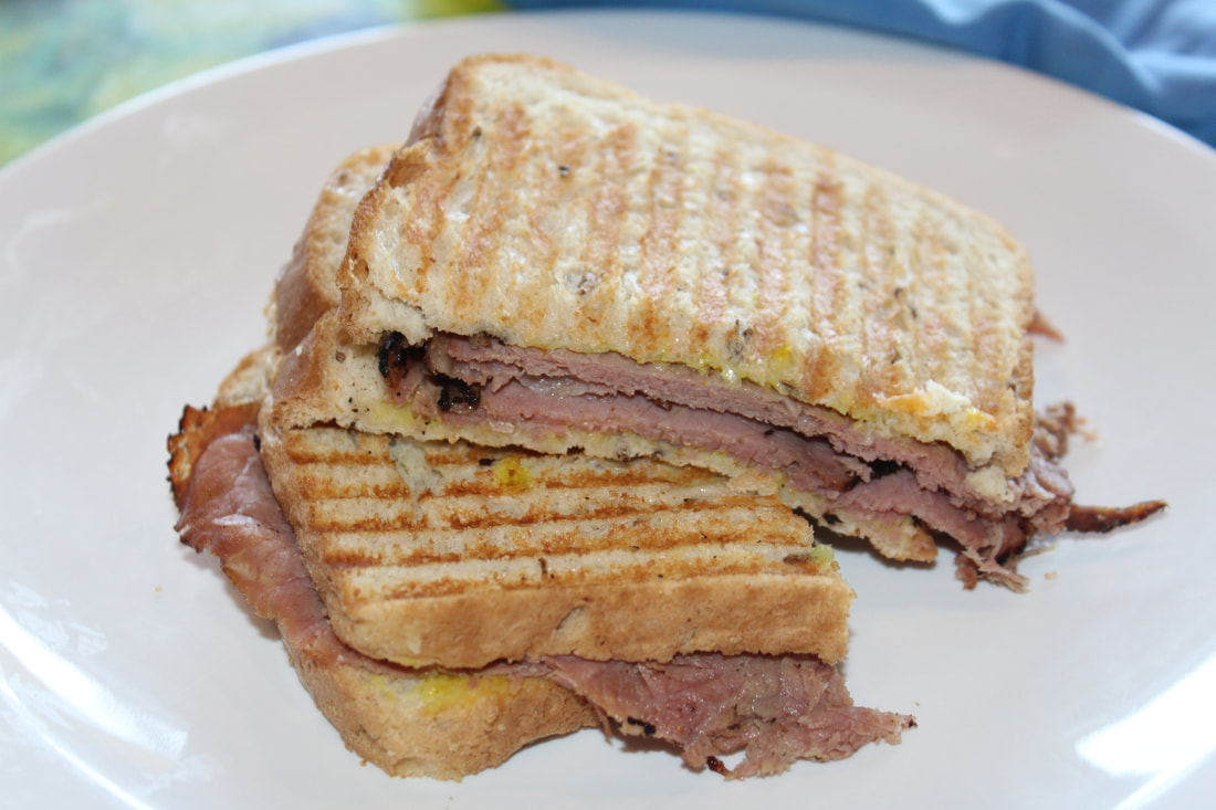 Carnival Valor Pastrami on Rye Sandwich