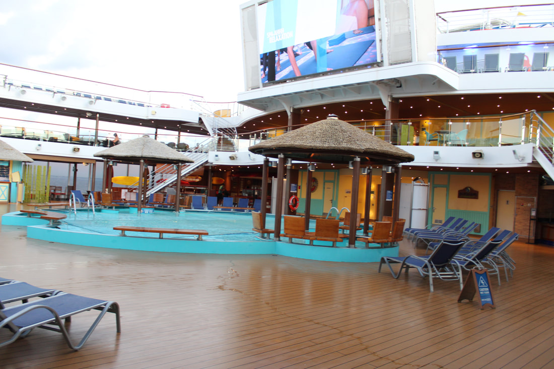 Carnival Valor Guy's Burger Joint Counter