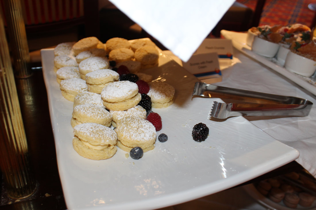 Carnival Valor Tea Time Scones