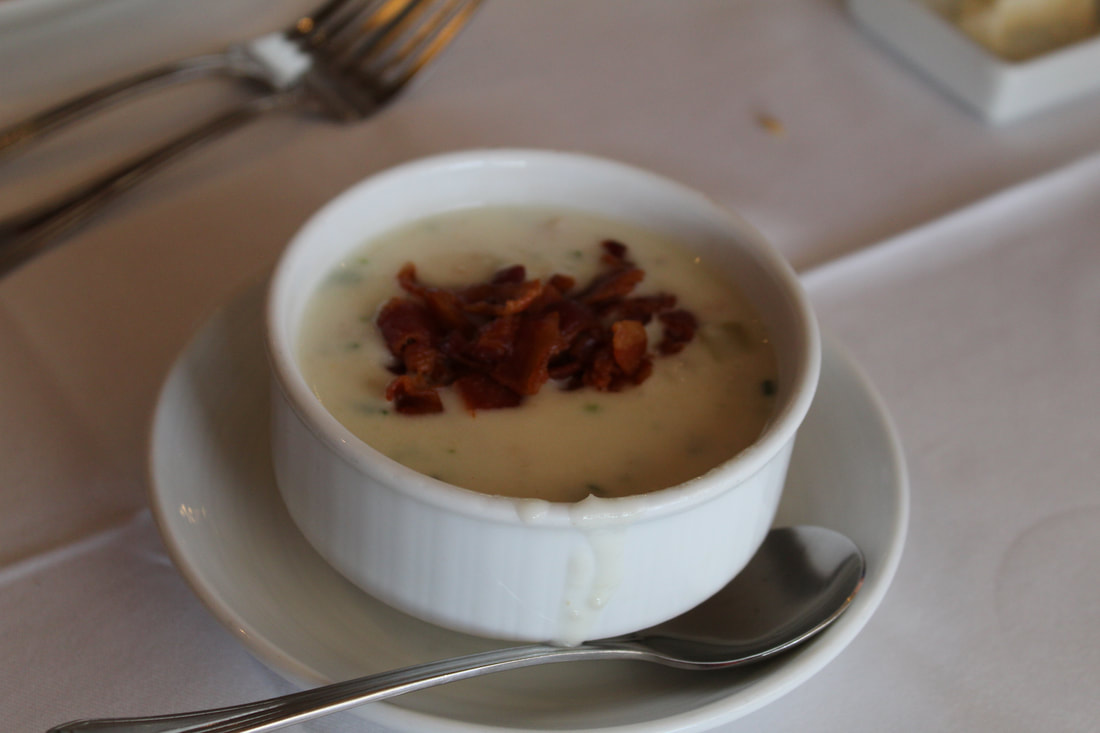 Carnival Valor Clam Chowder