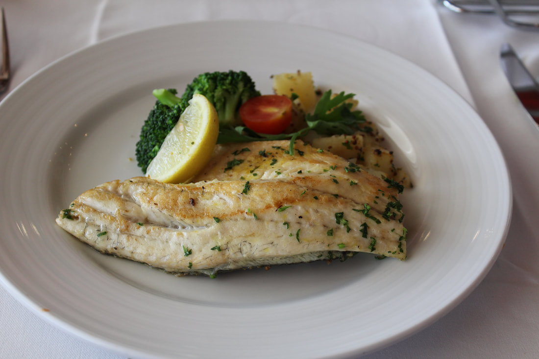 Carnival Valor Striped Bass Filet