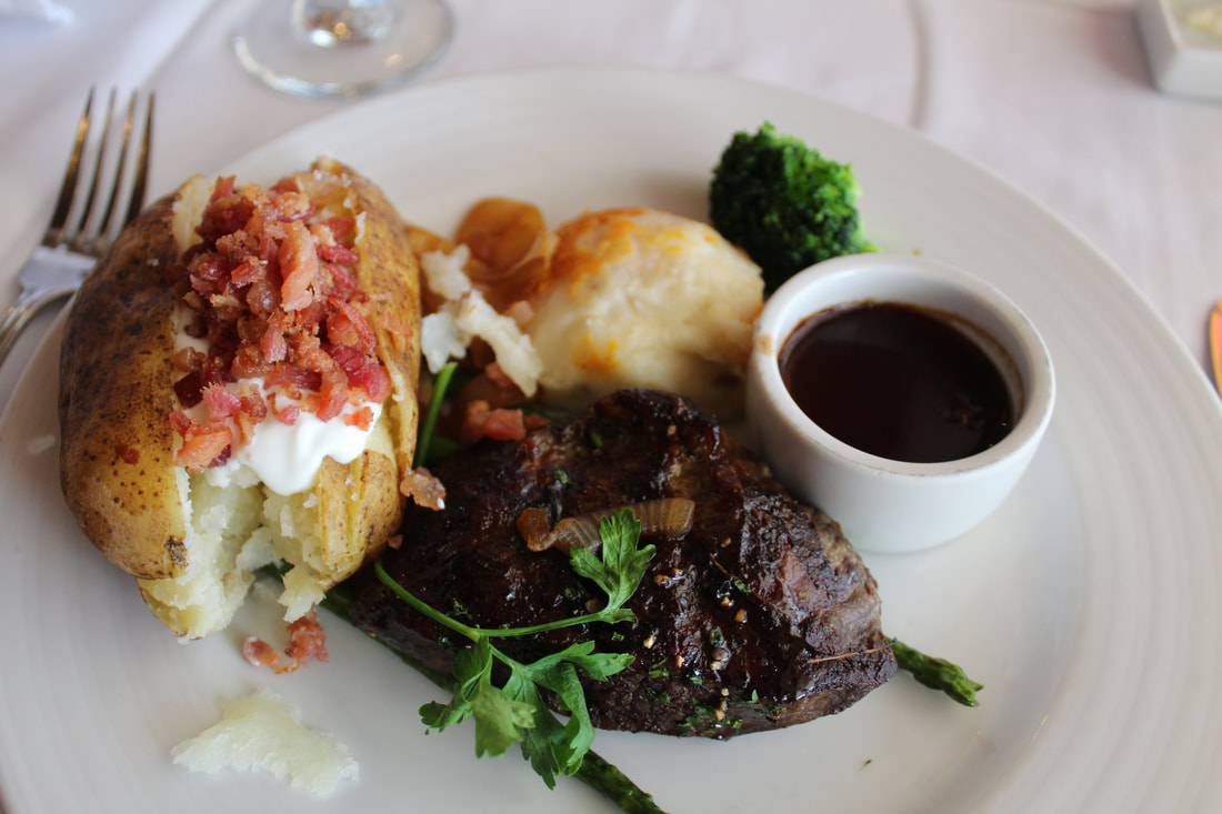 Carnival Valor Flat Iron Steak