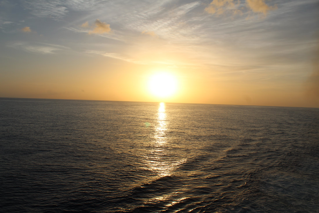 Carnival Valor Sunset