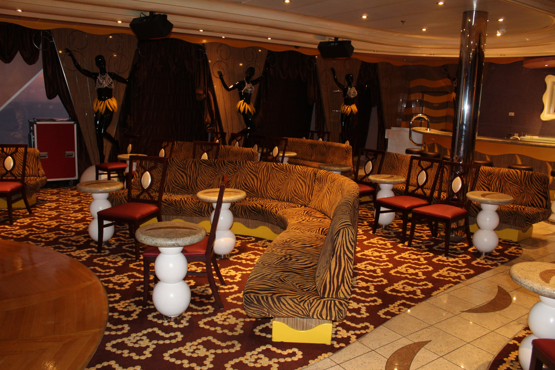 Carnival Valor Paris Hot Lounge Seating