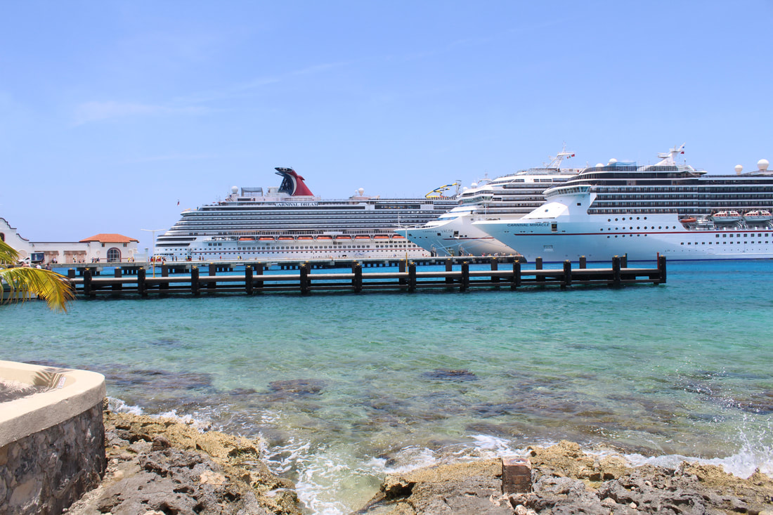 Carnival Dream, Carnival Valor, and Carnival Miracle