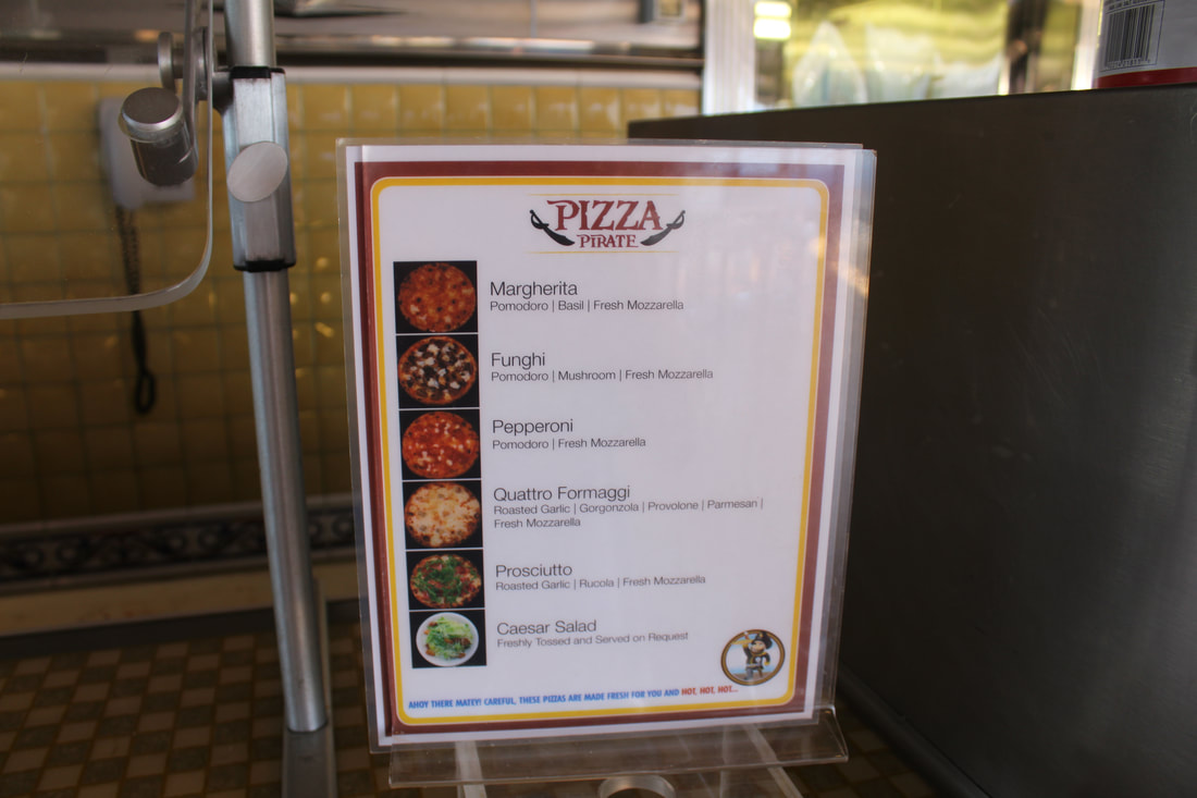 Carnival Valor Pizzeria Menu
