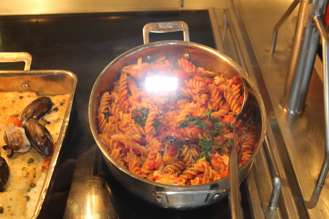 Carnival Valor Chef's Choice Italian Food