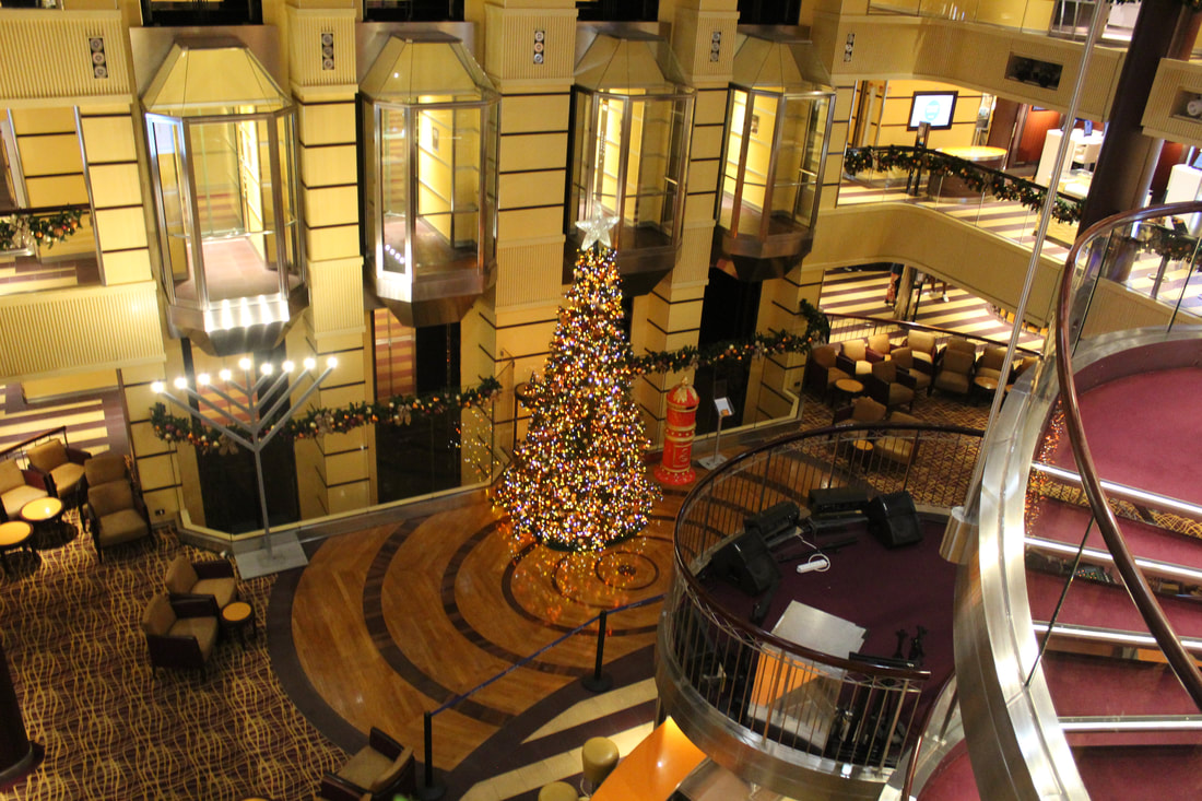 Carnival Valor Dinner Flatbread Appetizer