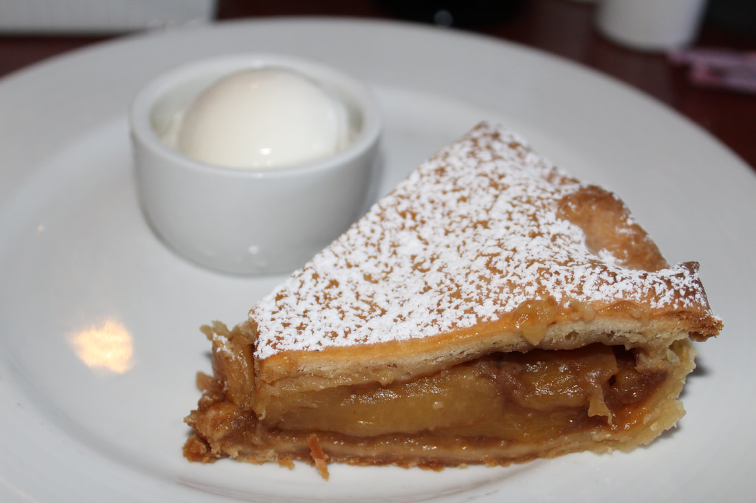 Carnival Valor Apple Pie Dessert