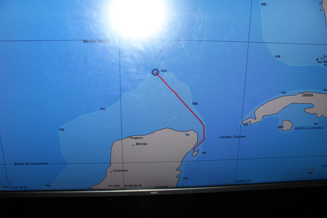 Carnival Valor Ship's Tracker