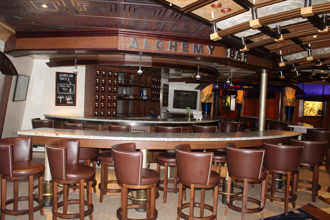 Carnival Valor Alchemy Bar