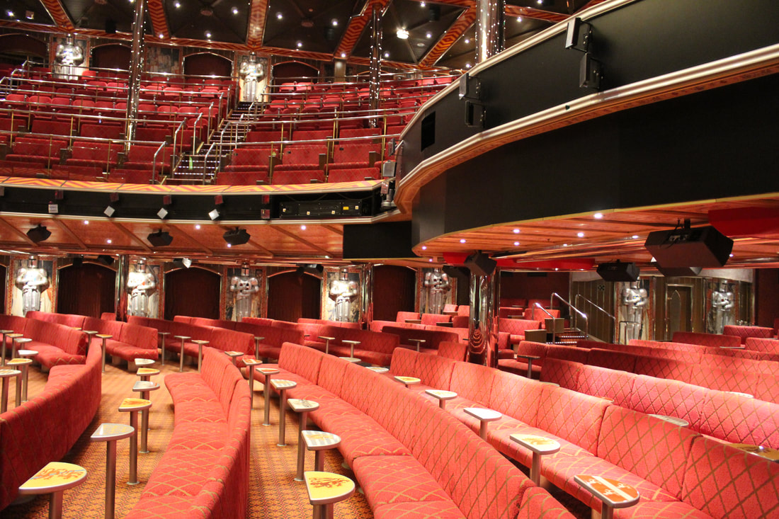 Carnival Valor Ivanhoe Theater Deck 3 Level