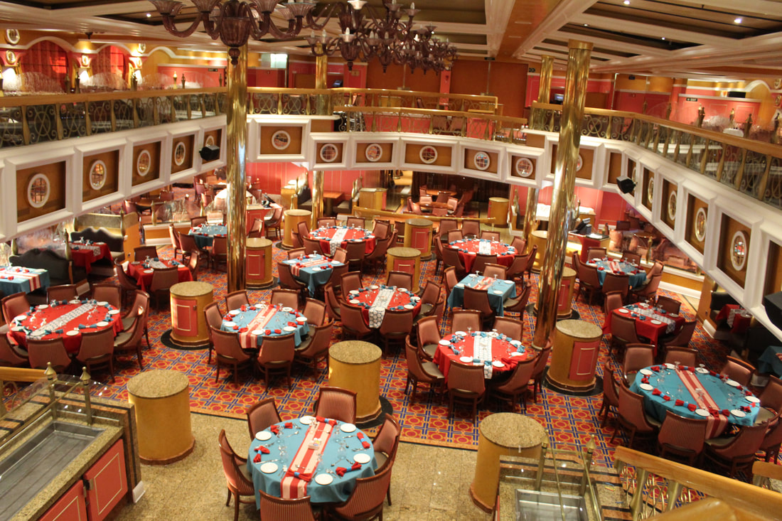 Carnival Valor Lincoln Dining Room