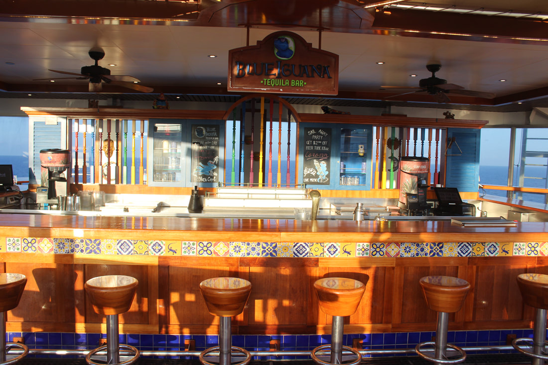 Carnival Valor Blue Iguana Tequila Bar
