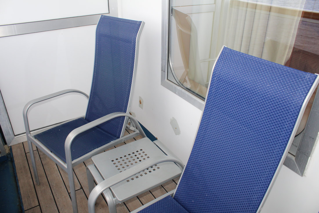 Carnival Valor Balcony Chairs