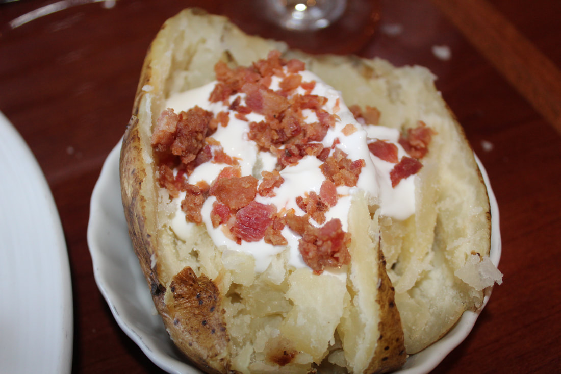 Carnival Valor Side Baked Potato