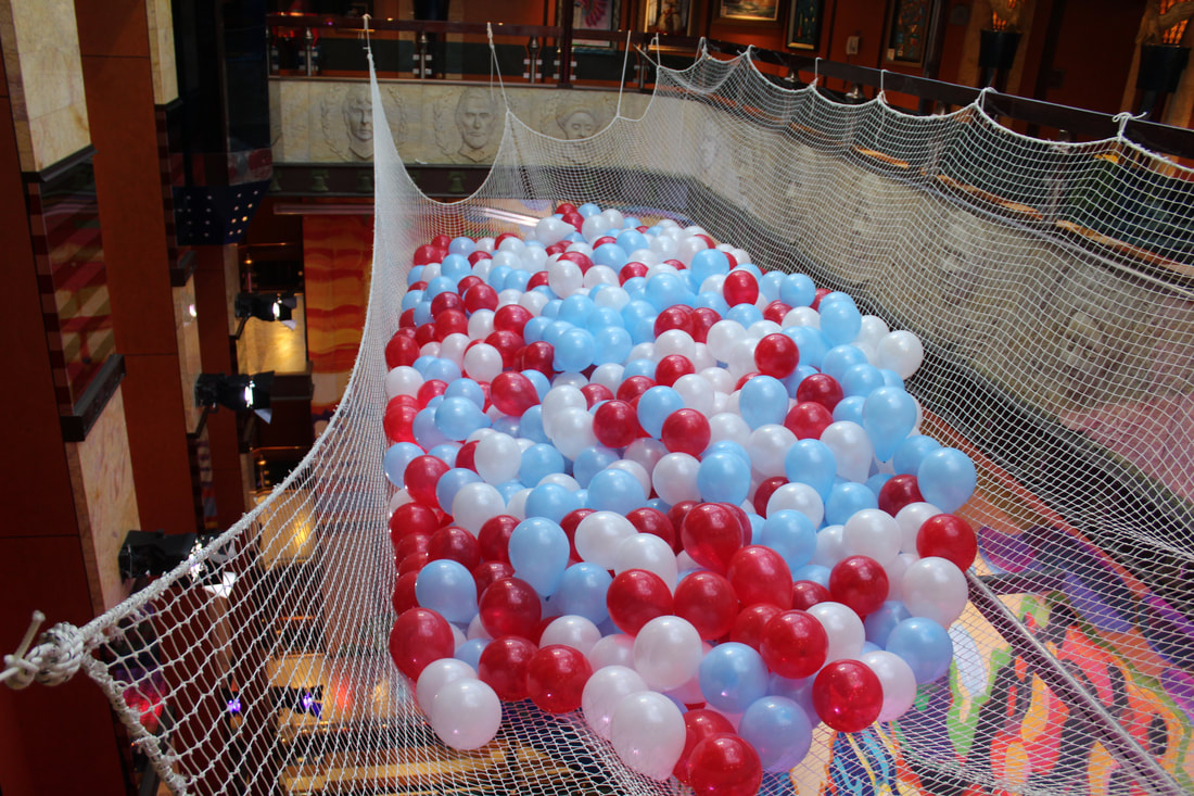 Carnival Valor 4th of July Balloons