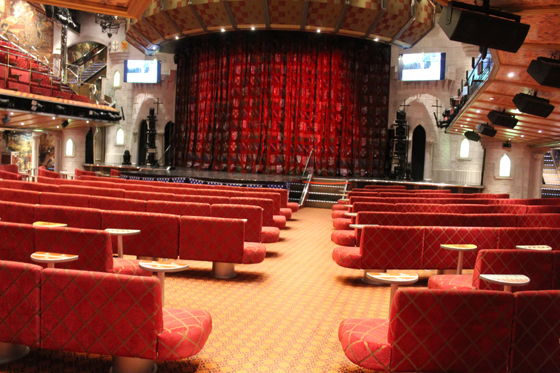 Carnival Valor Ivanhoe Theater