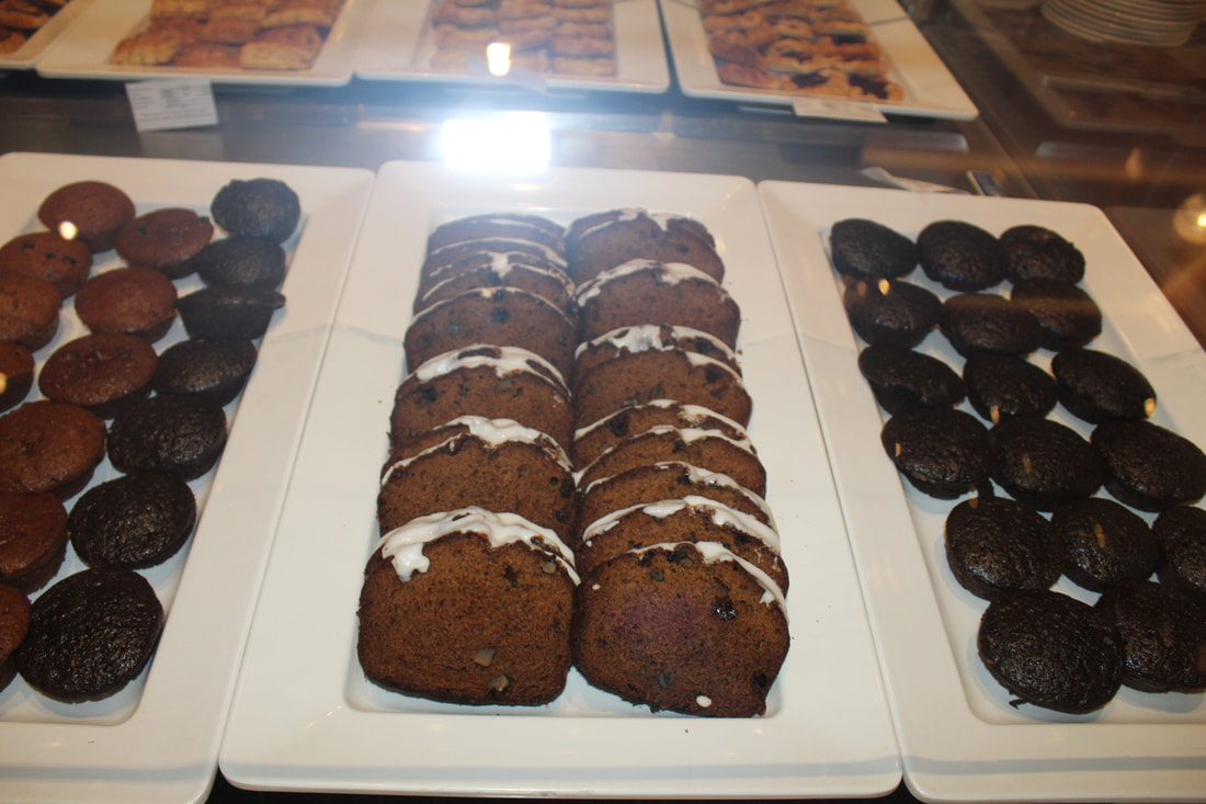 Carnival Valor Continental Breakfast Pastries