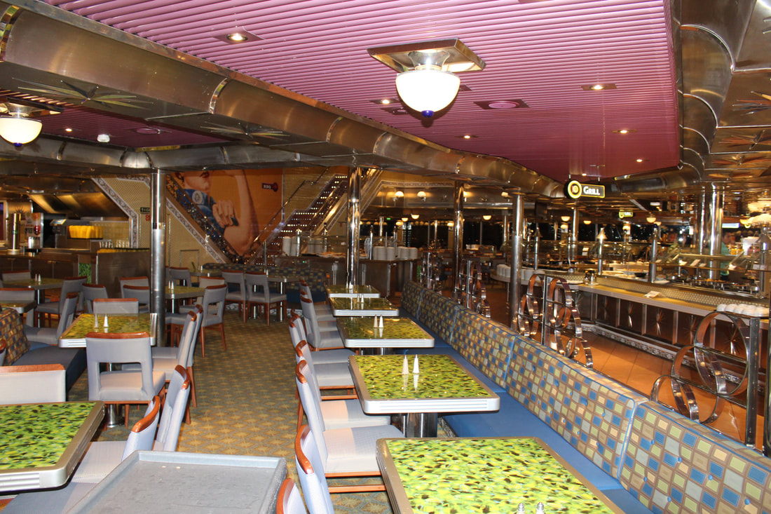 Carnival Valor Rosie's Lido Buffet