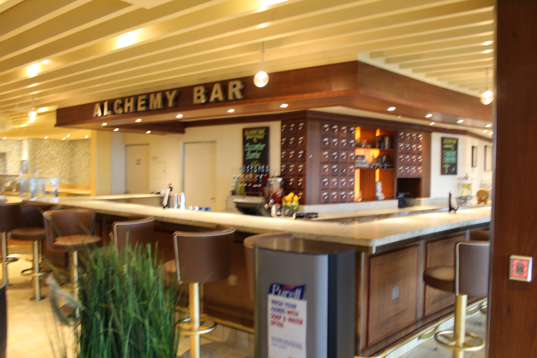 View Of The Sunrise From The Carnival Valor