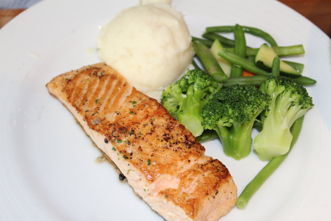 Carnival Vista Lido Marketplace Food Dishes