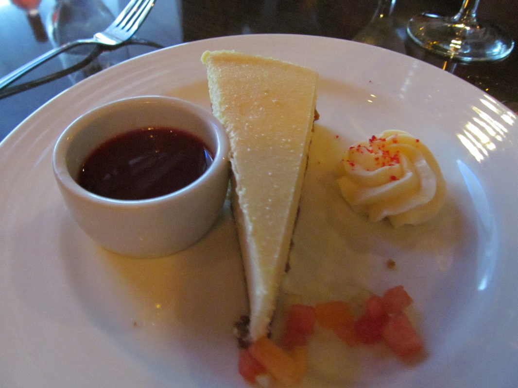Cheesecake on Carnival Triumph