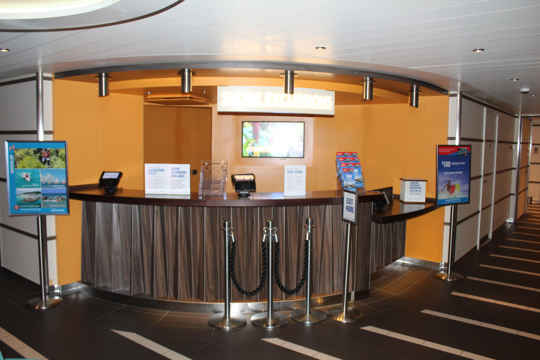 Carnival Vista Shore Excursions Desk