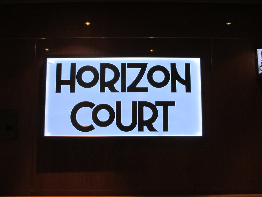 Horizon Court for lunch