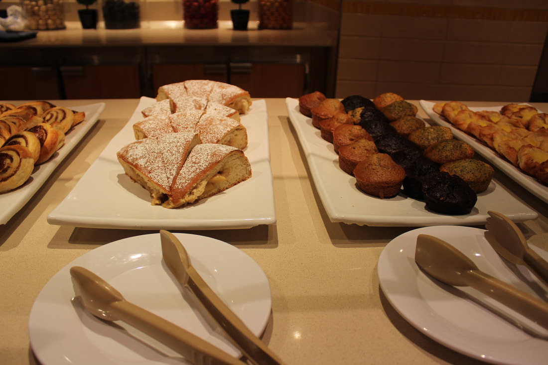 Carnival Vista Breakfast Pastries
