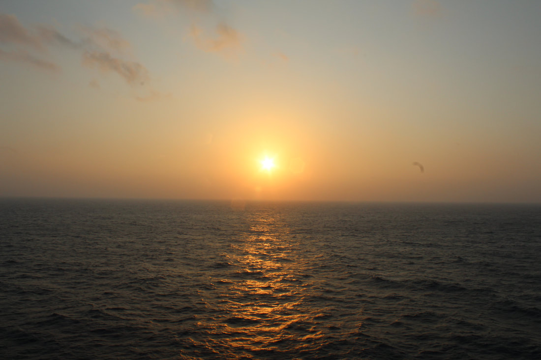Sunrise From The Carnival Vista