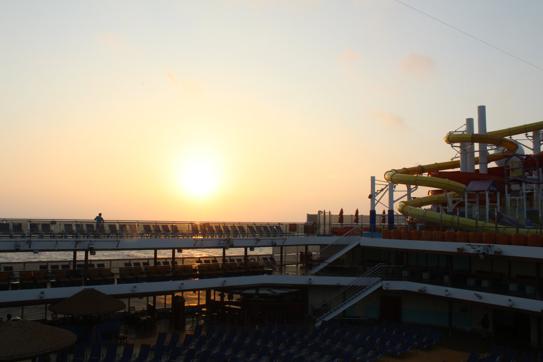 Carnival Vista Sunrise
