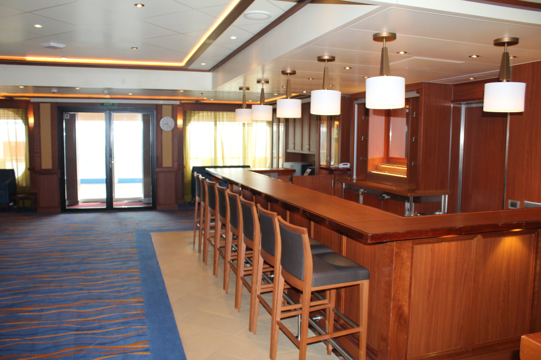 Carnival Vista Library Bar