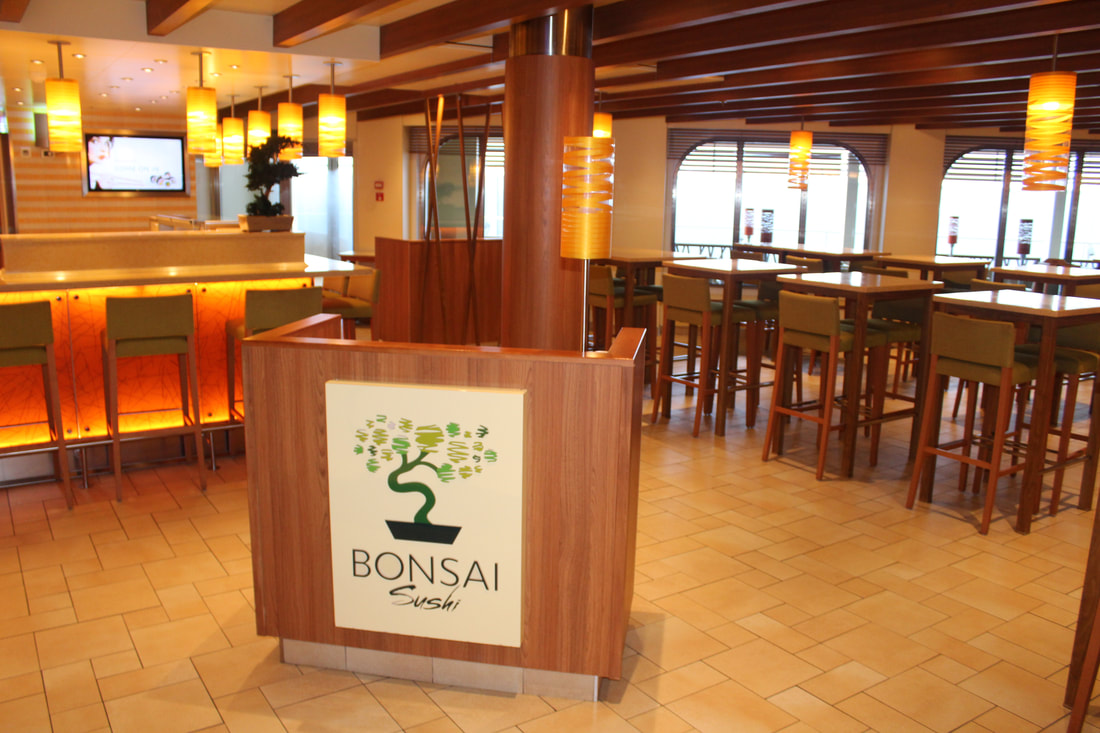 Carnival Vista Bonsai Sushi