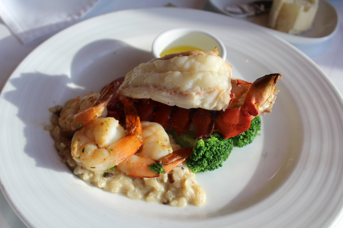 Carnival Vista Broiled Maine Lobster Tail Main Course