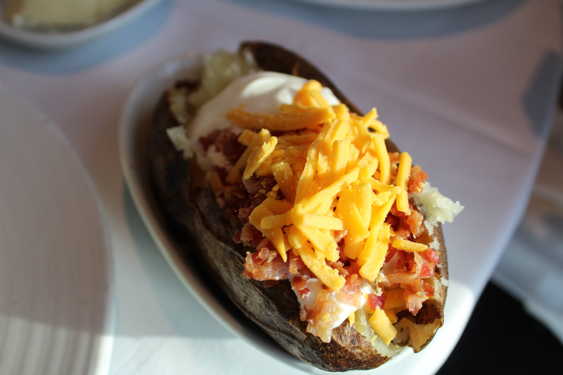 Carnival Vista Baked Potato