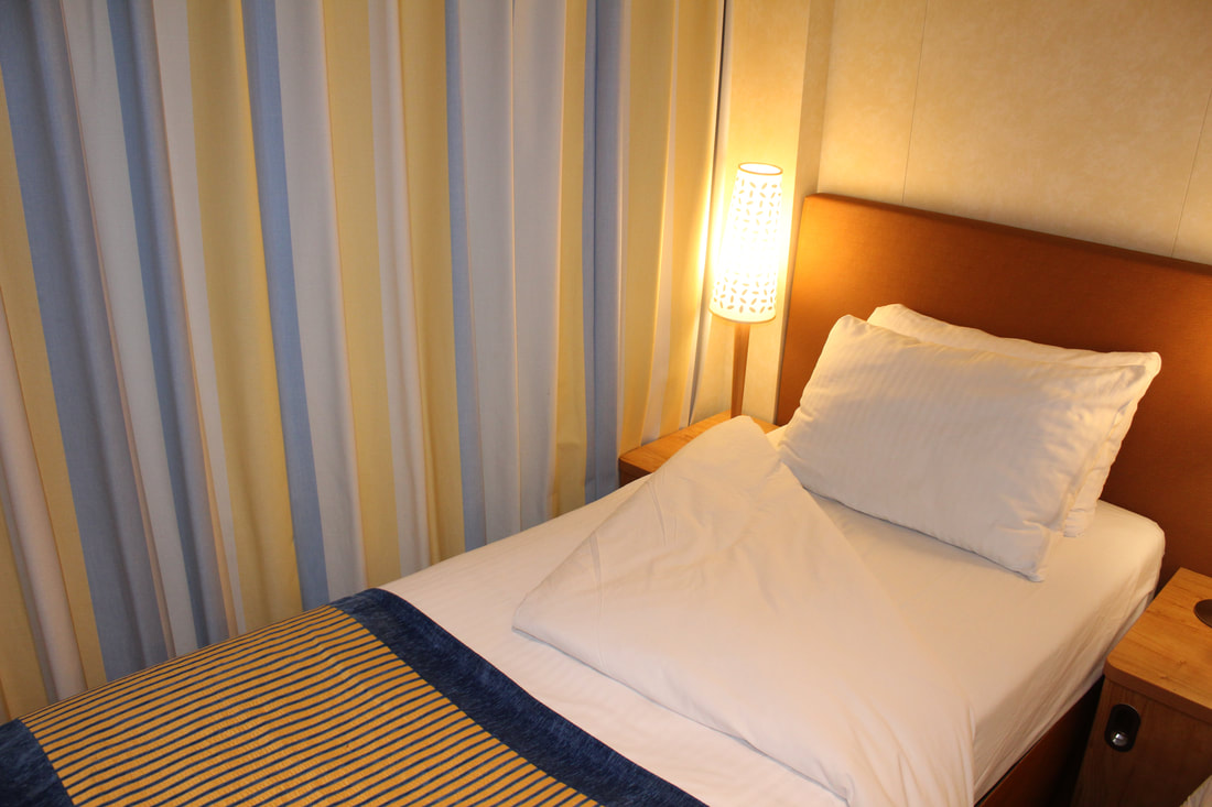 Carnival Vista Stateroom Nightly Turndown