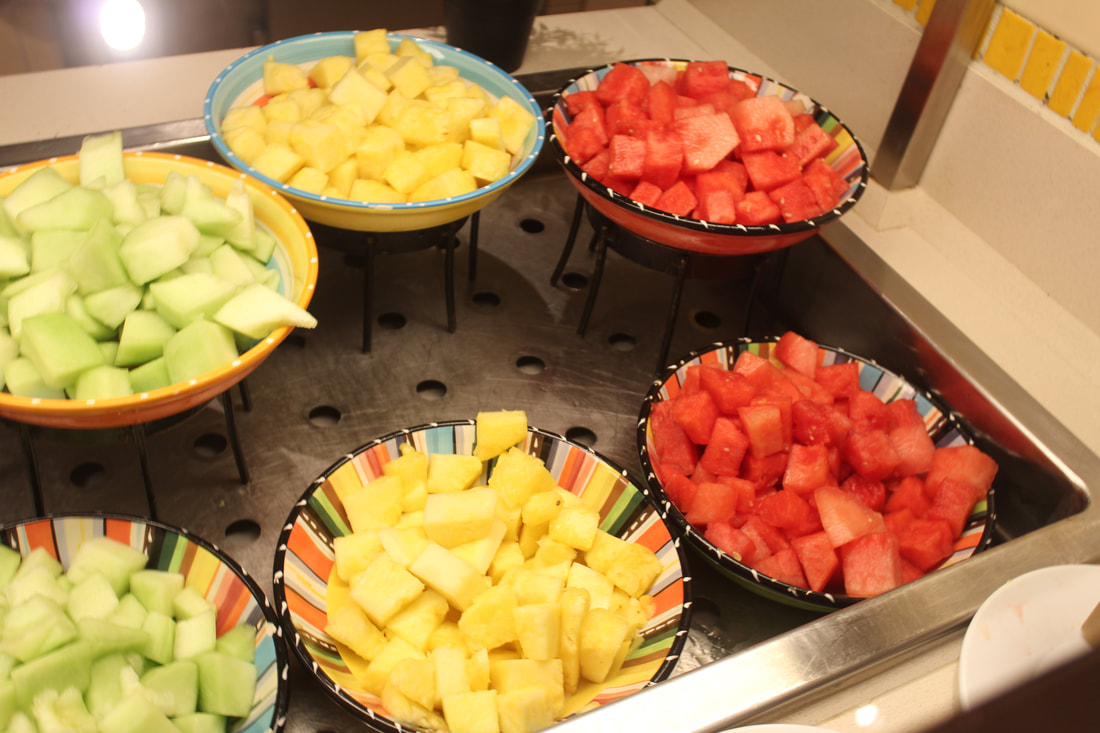 Carnival Cruise Breakfast Fruits