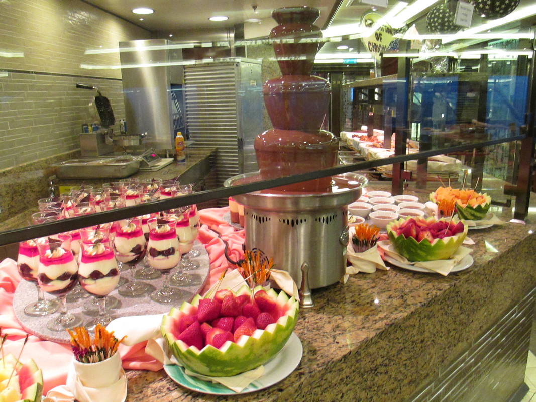 Regal Princess Chocolate Breakfast Choices