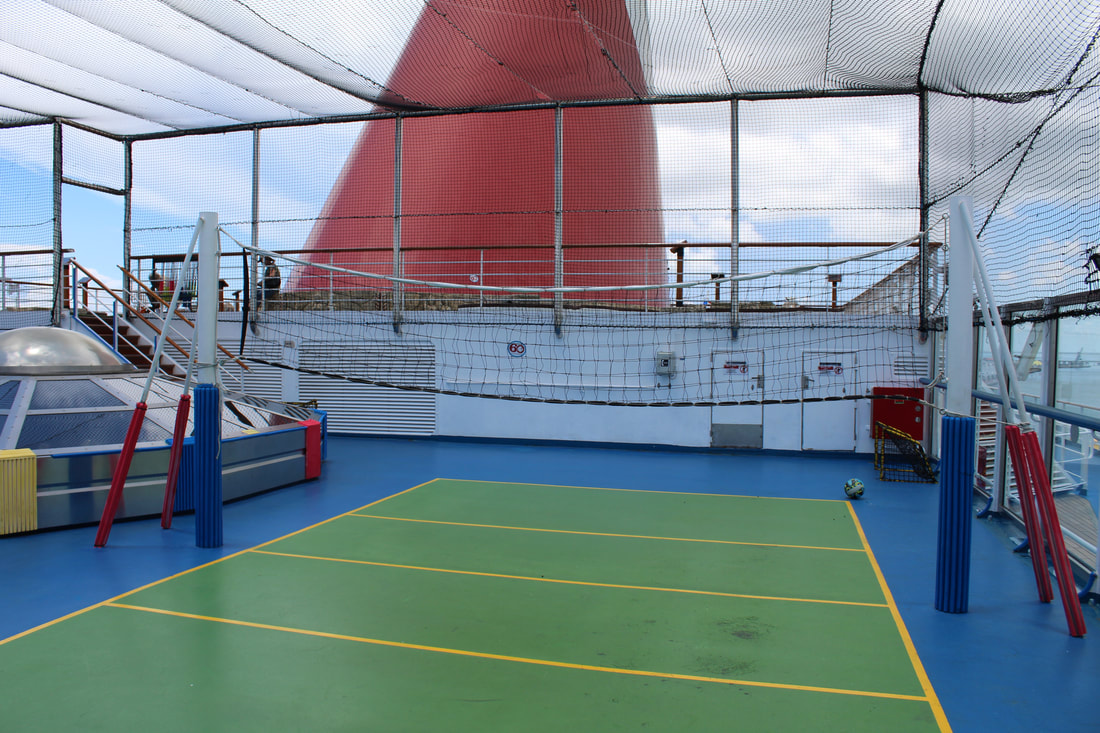 Carnival Freedom Volleyball Court