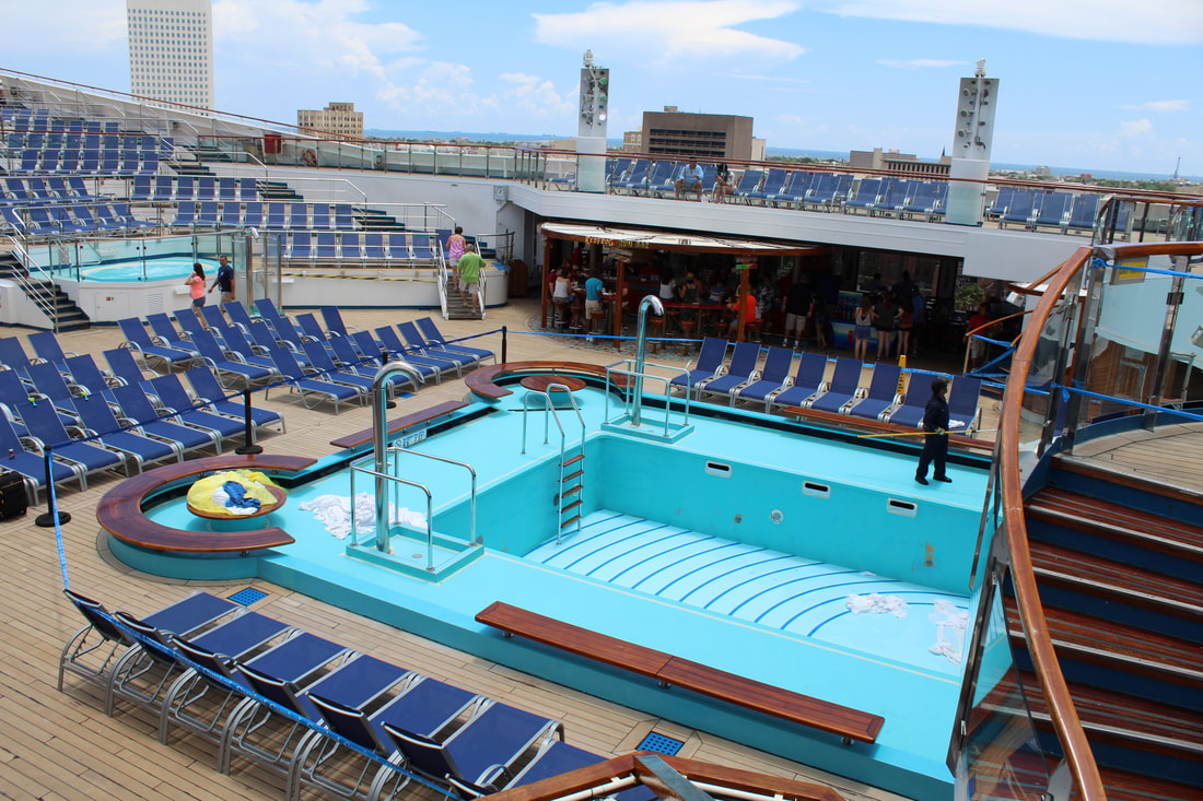 Carnival Freedom Main Pool
