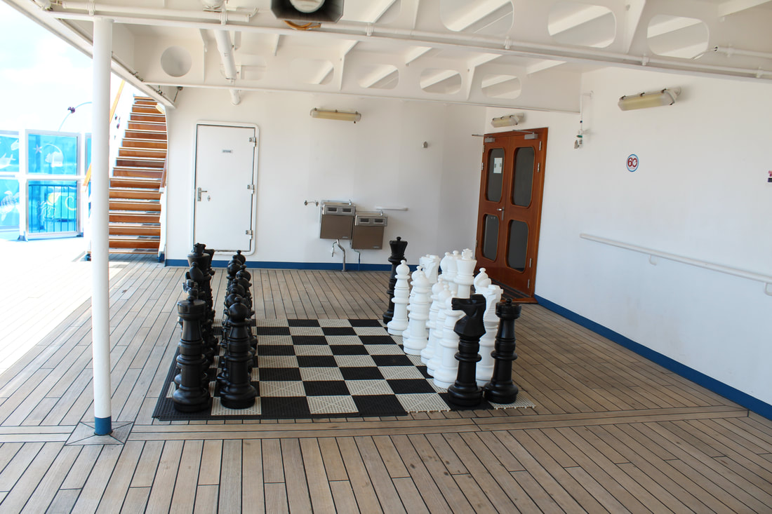 Carnival Freedom Chess Board
