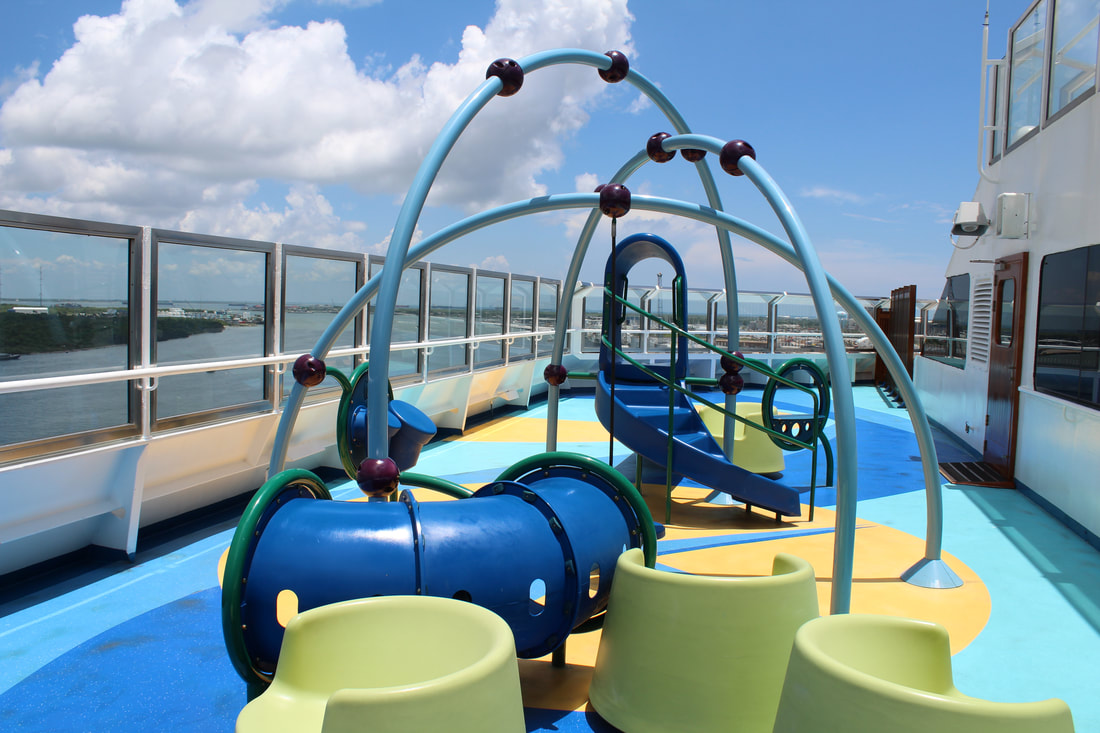 Carnival Freedom Camp Ocean Playground Equipment
