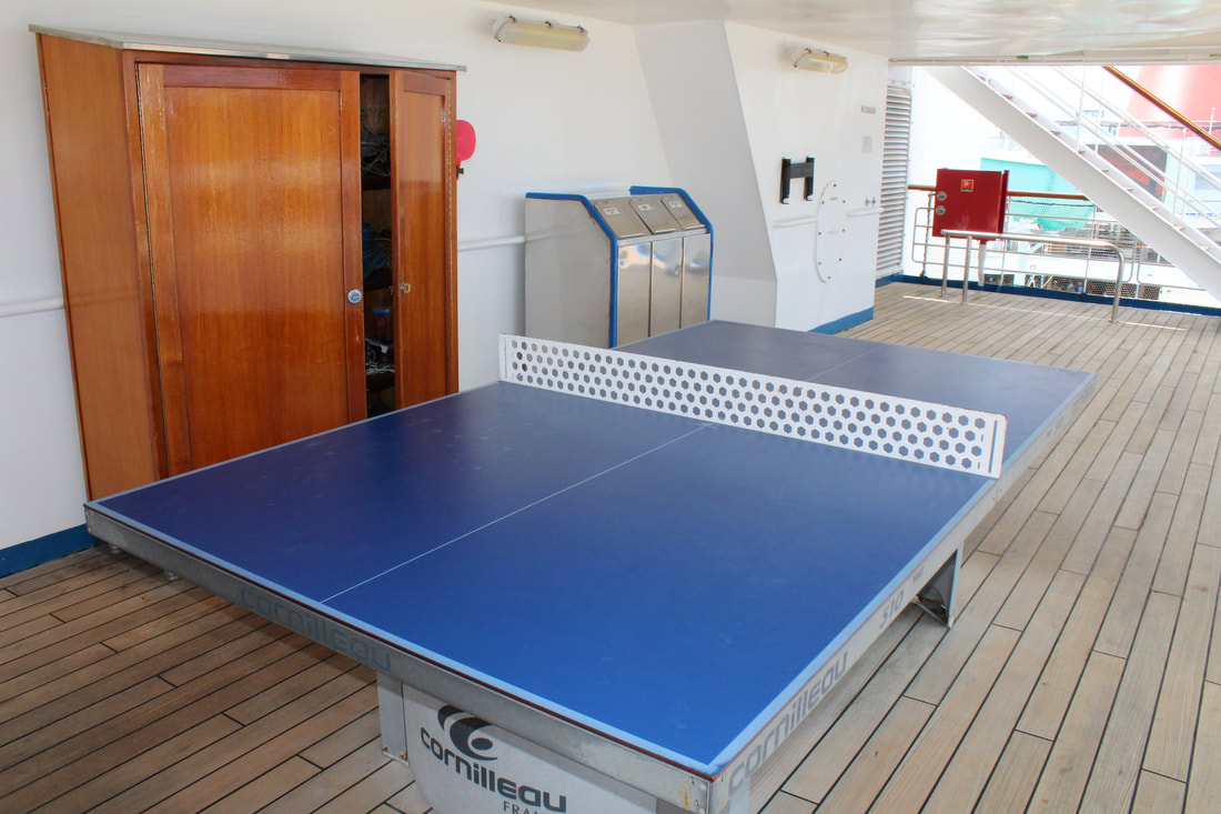 Carnival Freedom Ping-Pong Table