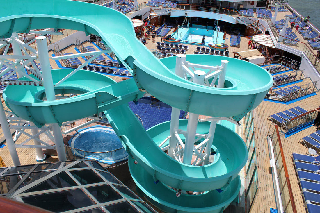 Carnival Freedom Waterslide