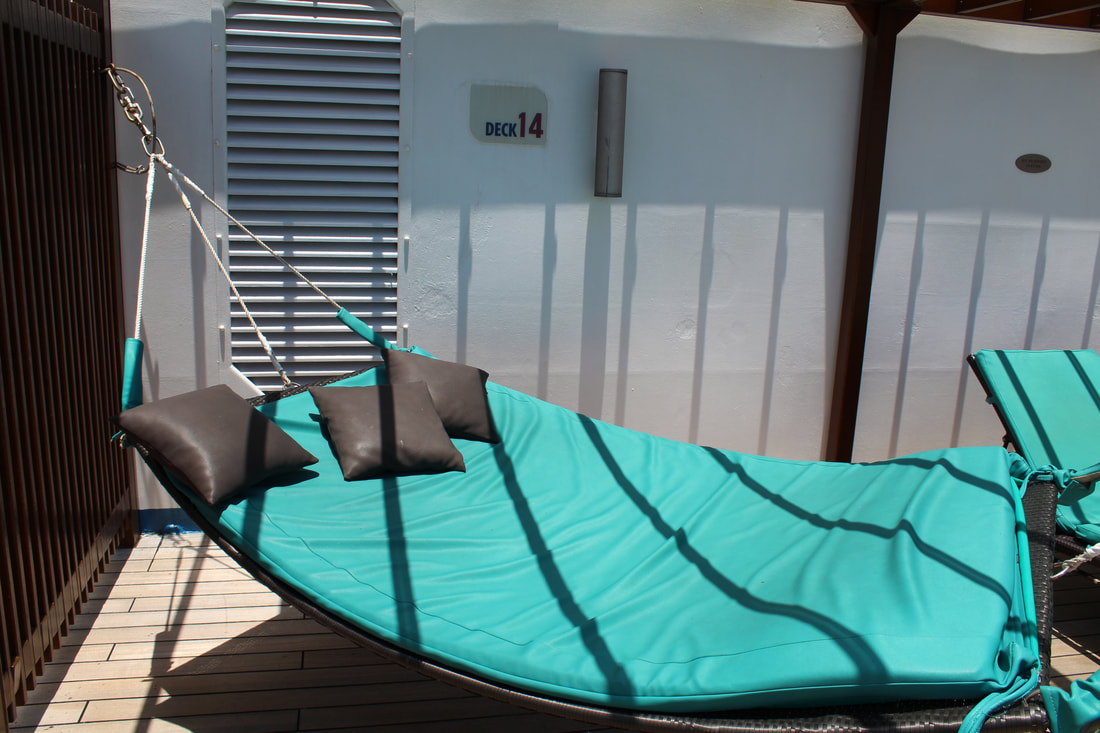 Serenity Adults Only Retreat Hammock on Carnival Freedom