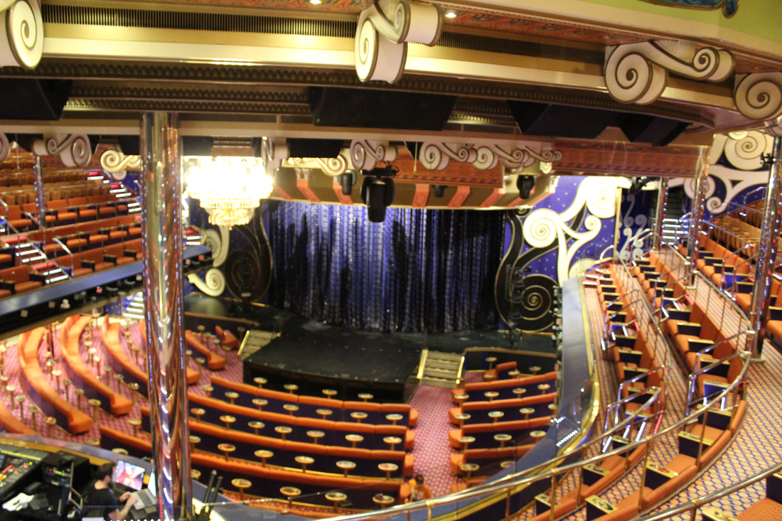 Carnival Freedom Victoriana Theater